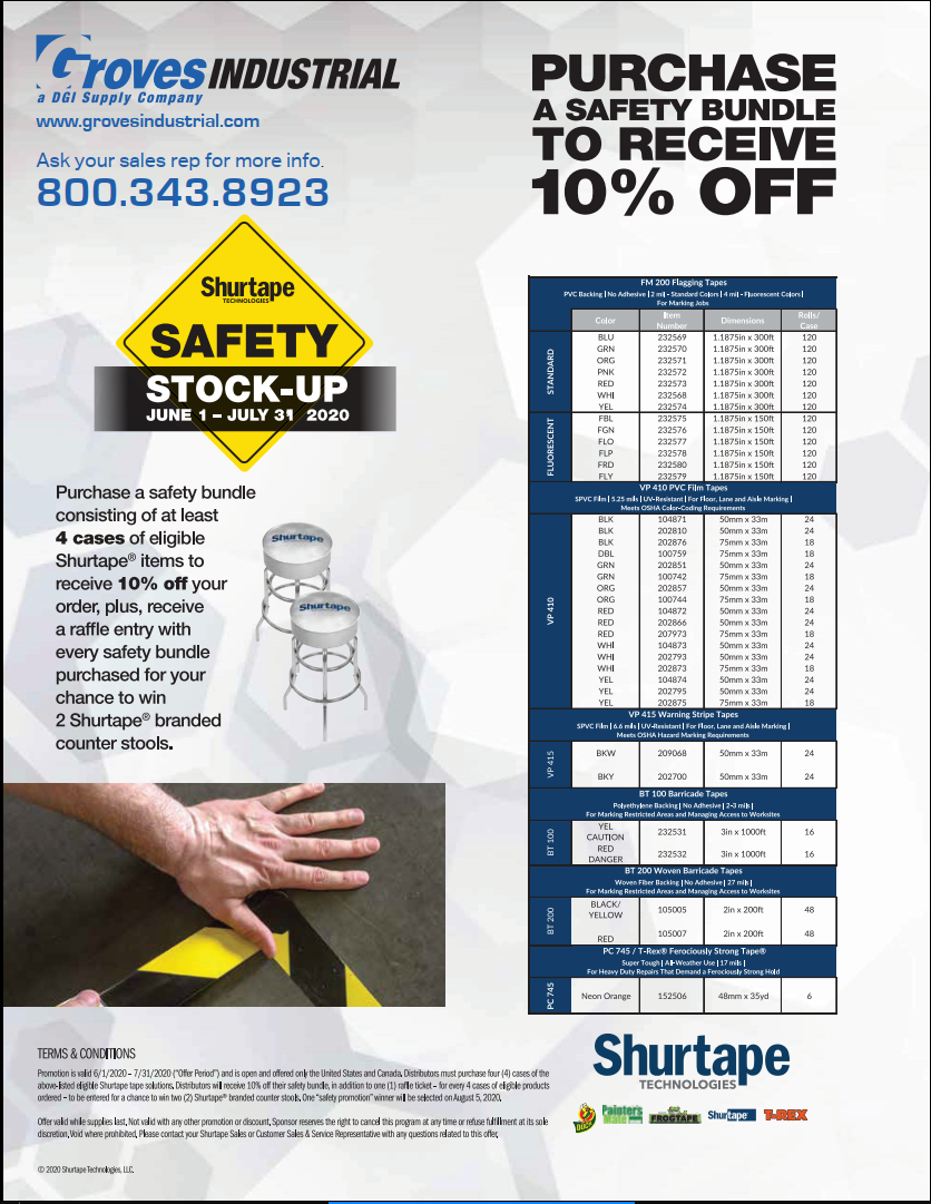 Shurtape Safety Promo